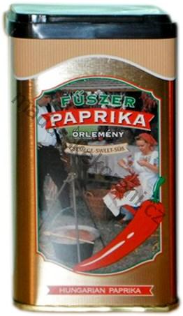 Maďarská paprika sladká v plechové dóze - 100g