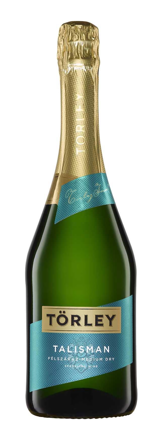 Törley Talisman - polosladké šumivé víno Törley Talisman Demi Sec Félszáraz Pezsgő