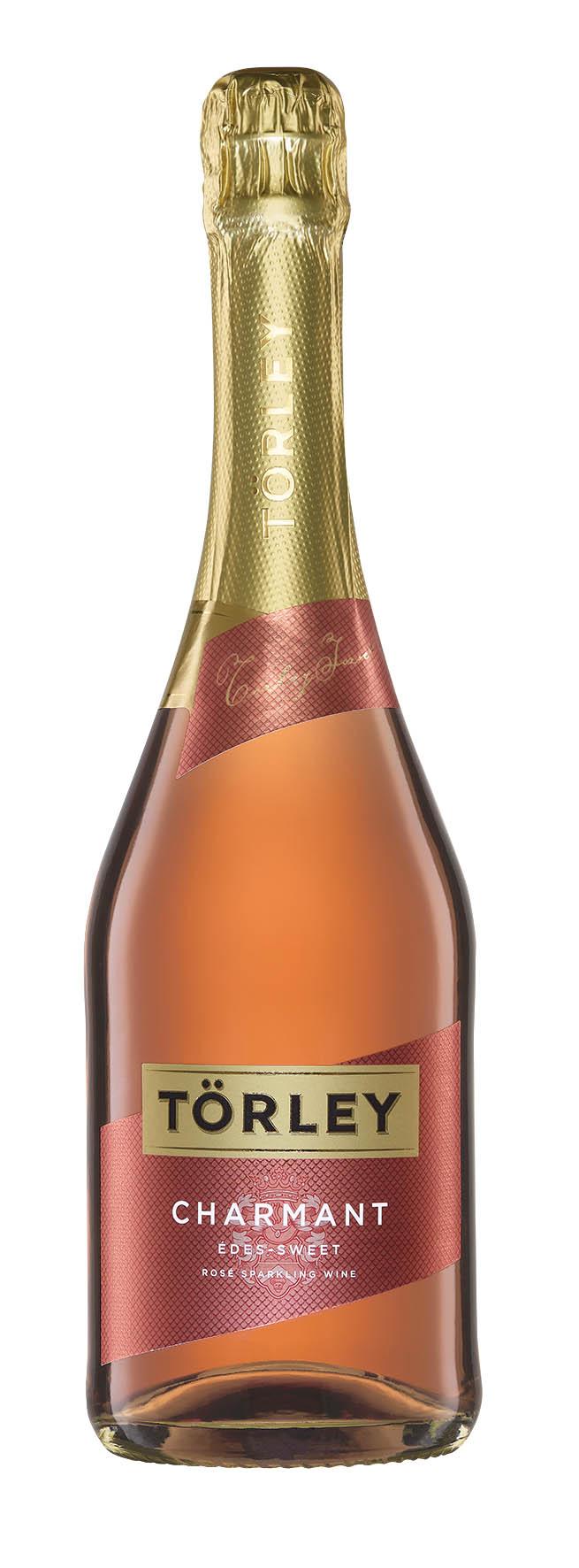 Törley Charmant růžové - sladké šumivé víno Törley Charmant Rosé Doux