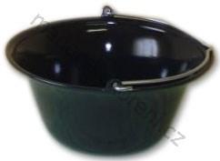 Kotlík černý smalt 10 litrů Fekete-zománcos