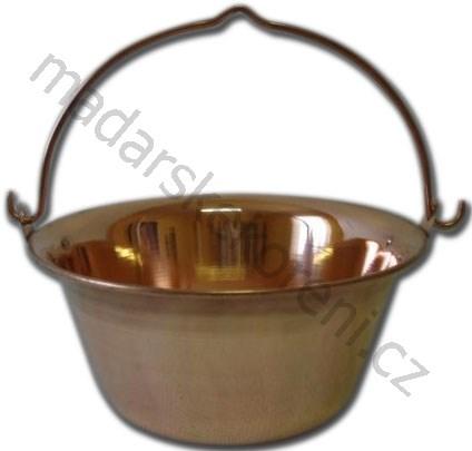 Kotlík měděný 10 litrů Rézbogrács