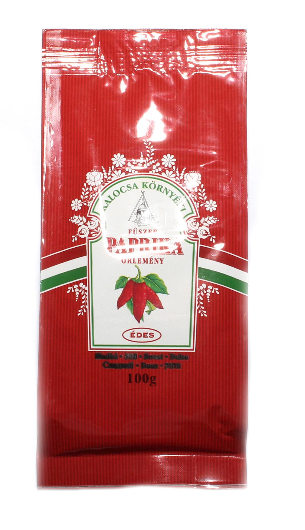 Mletá maďarská paprika sladká - 100g Édes csemege paprika