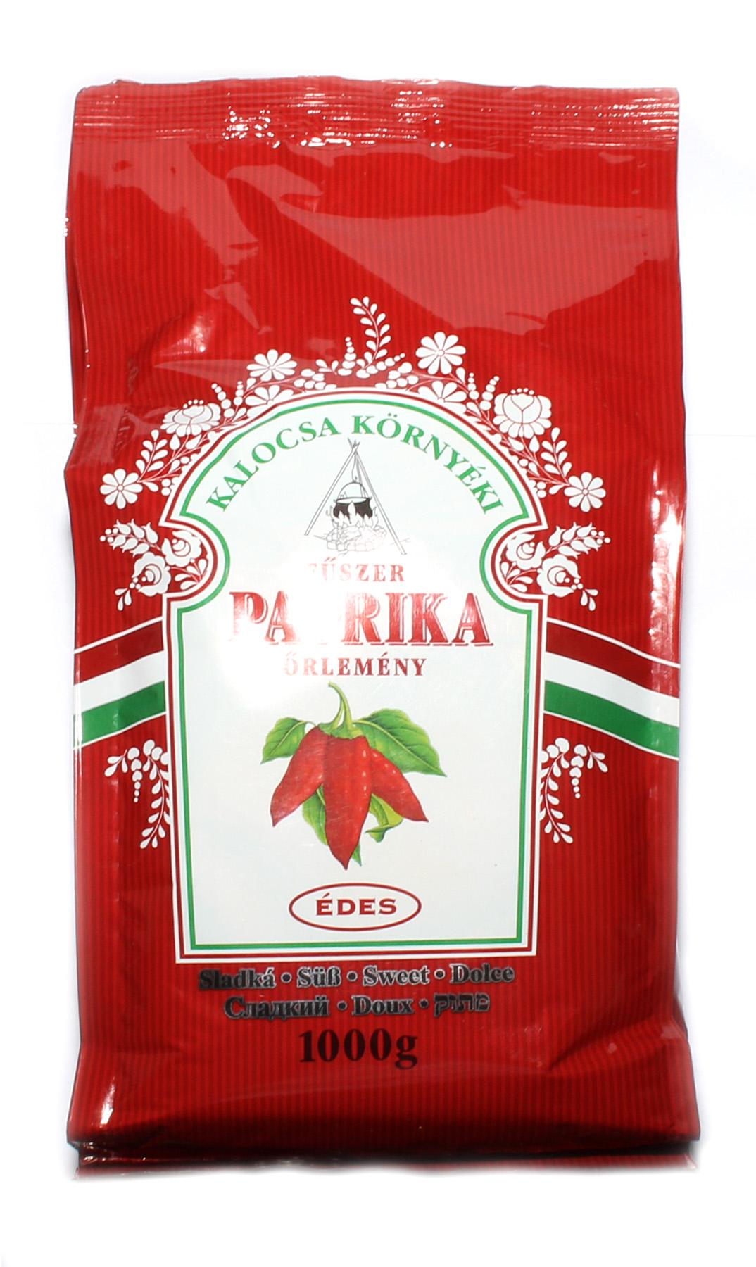 Mletá lahůdková 100% maďarská paprika nepálivá / sladká ASTA 120 Édes csemege paprika